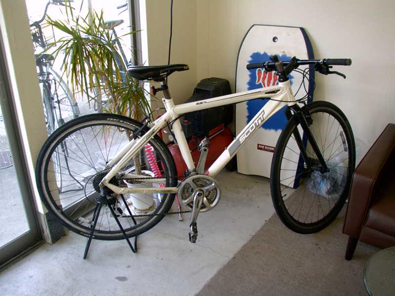 自転車の スコット 自転車 クロス : ... 自転車 クロス ホワイト 買取